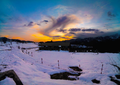 Sunset at Shogran Valley.png