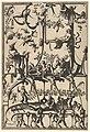 Surface Decoration, Grotesque with Strapwork, Borne by Satyrs from Veelderleij Veranderinghe van grotissen ende Compertimenten...Libro Primo MET DP823065.jpg