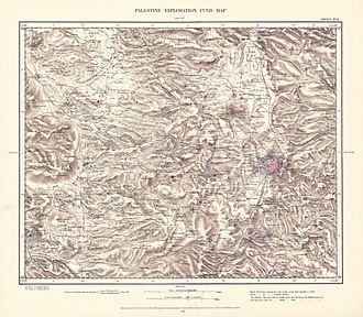 Ein Hemed - Image: Survey of Western Palestine 1880.17