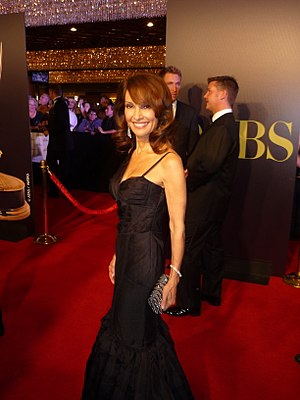 Actress Susan Lucci at 2010 Daytime Emmy Awards.