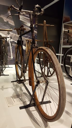 Fredrik Ljungström - Svea Velocipede exhibited at the Swedish National Museum of Science and Technology.