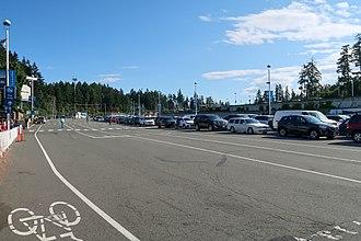 Swartz Bay Ferry Terminal - Parking area