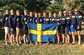 Sweden National Dragon Boat Team, U24 Men, European Champions 2016, 1500m.jpg