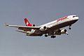 """Swissair McDonnell Douglas MD-11 HB-IWL """"Appenzell a.Rh"""" (23850747135).jpg"""