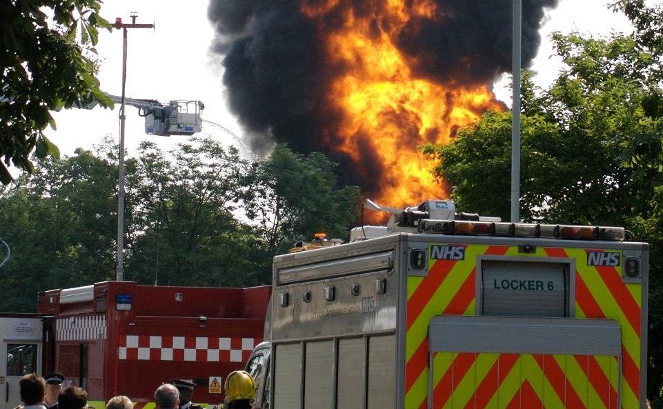 Sydenham substation fire