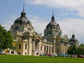 City Park (Budapest) - The Széchenyi Thermal Bath