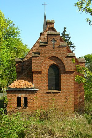 Closed church of St. Anna in Szubin - once belonging to the prisoner-of-war camp Oflag 64 and Stalag XXI-B