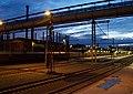 Třinec, nádraží, v noci.jpg
