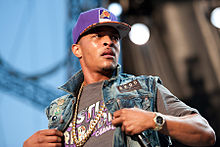 T.I. performing in concert, wearing a Phoenix Suns cap.jpg
