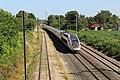 TGV Lyria Ligne Mâcon Ambérieu près Chemin Prairie St Jean Veyle 6.jpg