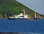 THV Patricia in Jennycliff Bay.jpg