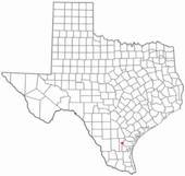 Localización de Alice en Texas