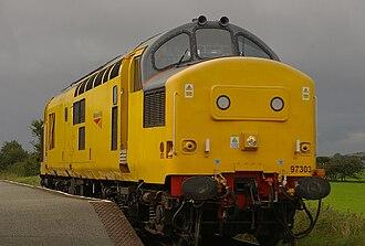 British Rail Class 97 - Image: Talsarnau railway station MMB 07 97303