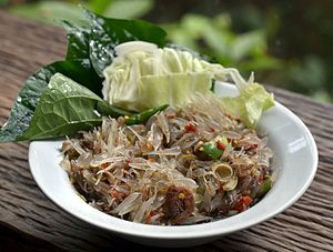 Thai salads - Northern Thai tam som o
