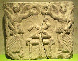 Тамга царя Пантикапея (Керчь) Тиберия Юлиуса Евпатора, Сарматская династия.