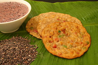 Manipuri cuisine - Tan Ngang, a bread