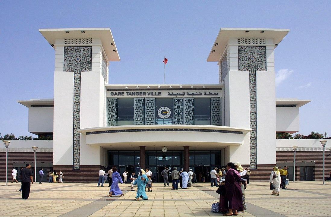 Bahnhof von Tanger in Marokko