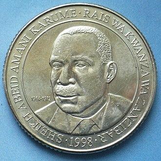 Abeid Karume - Karume on Tanzania 200 shillings
