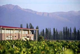 New World wine - Tapiz Winery in Agrelo, Mendoza