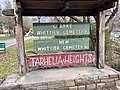 Tarhelia Heights Sign, Whittier, NC (45726630335).jpg