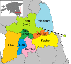 46d6629fb7d Municipalities of Tartu County