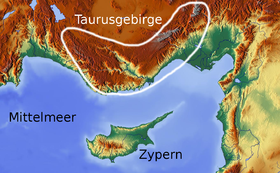 Image illustrative de l'article Monts Taurus
