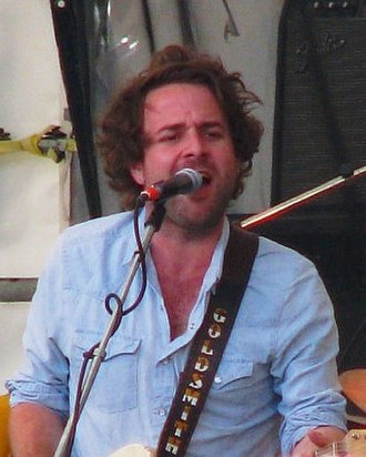 Dawes (band) - Taylor Goldsmith at the Appel Farm Arts and Music Festival, June 2012