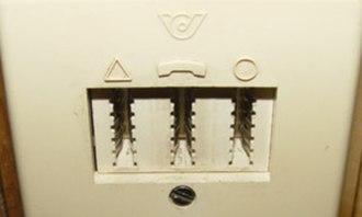 TDO connector - Image: Tdo ptt klein