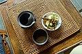 Tea and egg - Lan Su Chinese Garden - Portland, Oregon - DSC01652.jpg