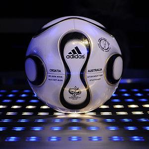 Adidas Teamgeist - An  Adidas Teamgeist football