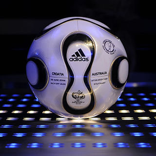 Adidas Teamgeist official football for the 2006 FIFA World Cup