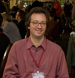 Ted Rall - Ted Rall at Stumptown Comics Festival 2007