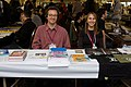 Ted Rall and Stephanie McMillan at Stumptown Comics Festival, 2007.jpg