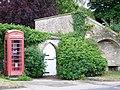 Telephone box, Burton Bradstock - geograph.org.uk - 1395470.jpg