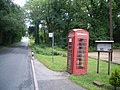 Telephone kiosk at Coldharbour - geograph.org.uk - 886786.jpg