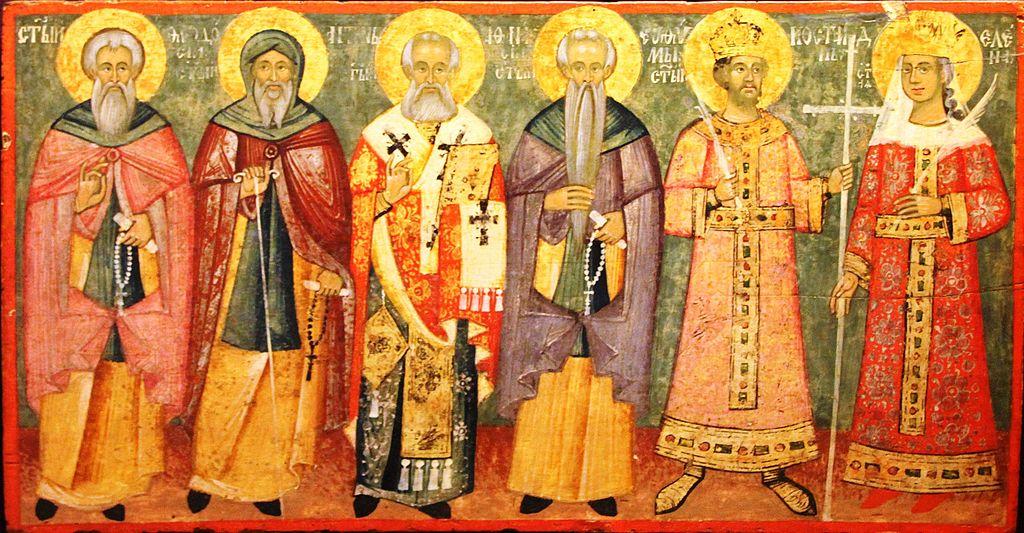 Icone serbe du musée de l'église serbe de Szentendre - Photo de Bjoertvedt