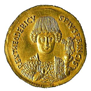 Ostrogothic Kingdom - Image: Teodorico re dei Goti (493 526) white