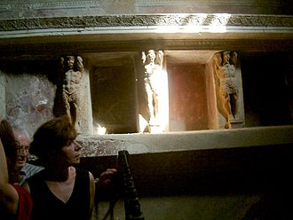 Tepidarium - The Tepidarium of the thermae in the Pompeii