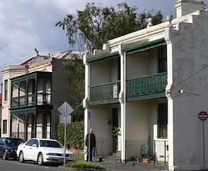 Burnley, Victoria - Terrace housing in Cremorne