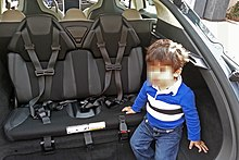 Rear Facing Car Seat In Middle