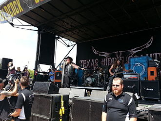 Texas Hippie Coalition - Image: Texas Hippie Coalition Mayhemfest 2014