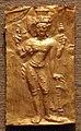 Thailandia, placca con vishnu, oro, VII secolo.jpg