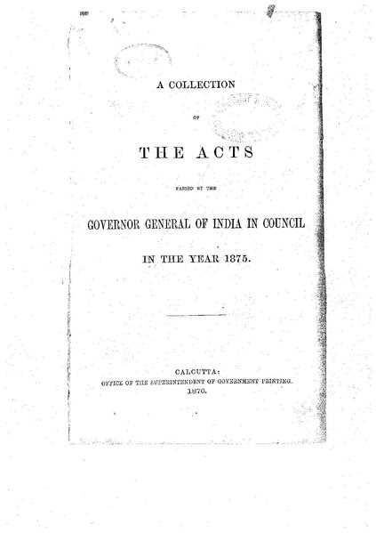 File:The Acts passed by the Governor General of India in Council in 1875.pdf