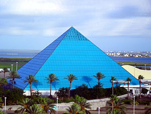 Moody Gardens - The Aquarium Pyramid