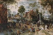 The Battle of Stadtlohn by Sebastiaen Vrancx