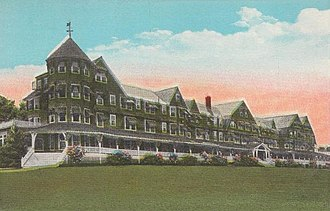 Belgrade, Maine - The Belgrade Hotel, c. 1920