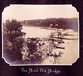 The Birch Pole Bridge over the Narrows- Bon Echo 1908 (20152605615).jpg