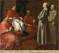 The Blessed Giles Before Pope Gregory IX - Bartolomé Estéban Murillo - Google Cultural Institute.jpg