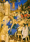 The Carrying of the Cross by Jacquemart de Hesdin, before 1409.jpg