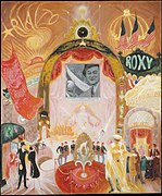 1929 oil painting by Florine Stettheimer